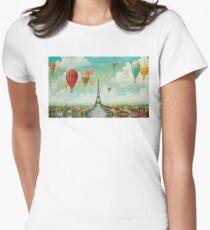 Ballooning Over Paris T-Shirt