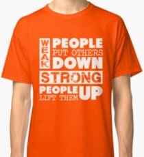 Anti-Bully Stand Up to Bullies Stuff for Bullying Day Classic T-Shirt