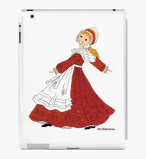 Costume enfantin du SUNDGAU, France iPad Case/Skin