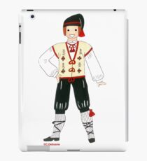 Costume traditionnel masculin du MIDI,France iPad Case/Skin