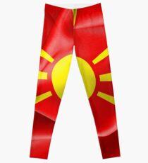 Frohe Weihnachten Mazedonisch.Mazedonisch Leggings Redbubble