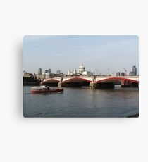 Waterloo-Brücke, London, England Leinwanddruck