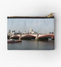 Waterloo Bridge, London, England Studio Pouch