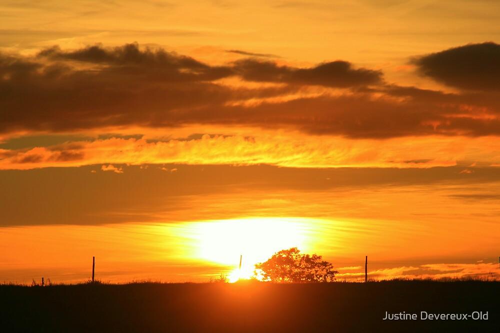 burning skies by Justine Devereux-Old