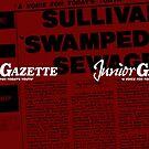 Junior Gazette (white logo) by tvcream
