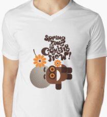 Spring Is Coming Men's V-Neck T-Shirt