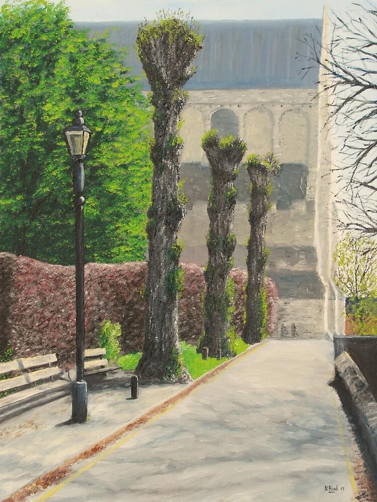 Church Lane, Romsey by Richard Paul