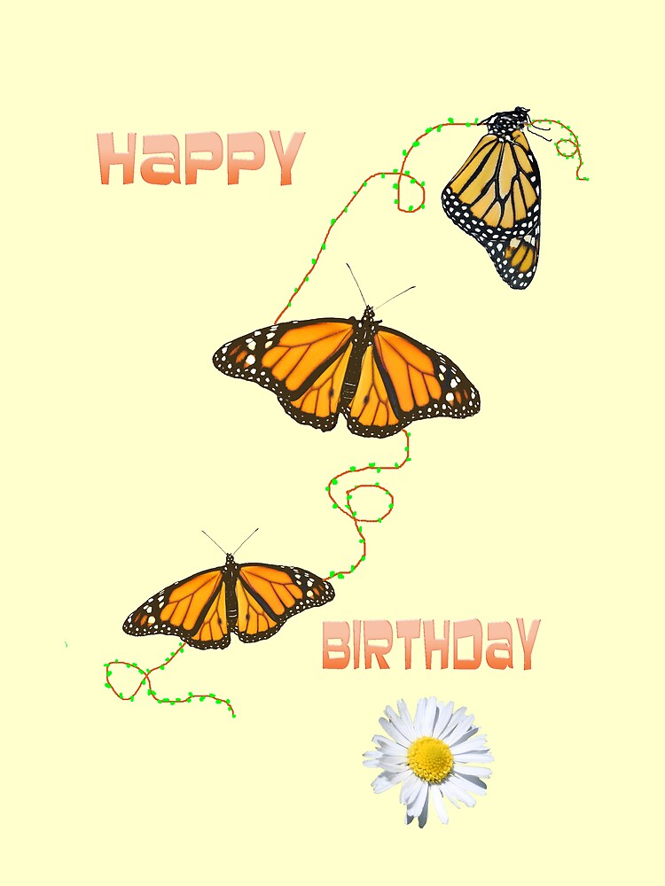 Happy Birthday card by chinet