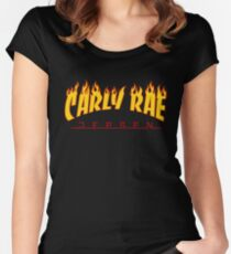 Carly Rae Jepsen Thrasher shirt Women's Fitted Scoop T-Shirt