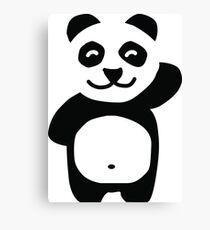 Cute panda prints for children Canvas Print