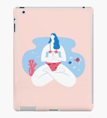 Yoga Girls 2 The She Lotus Pose iPad Case/Skin