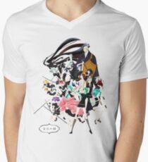 Houseki no Kuni with logo Men's V-Neck T-Shirt