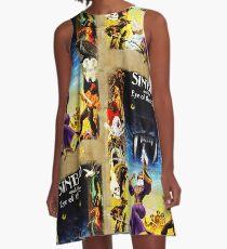 Sinbad's Tiger A-Line Dress