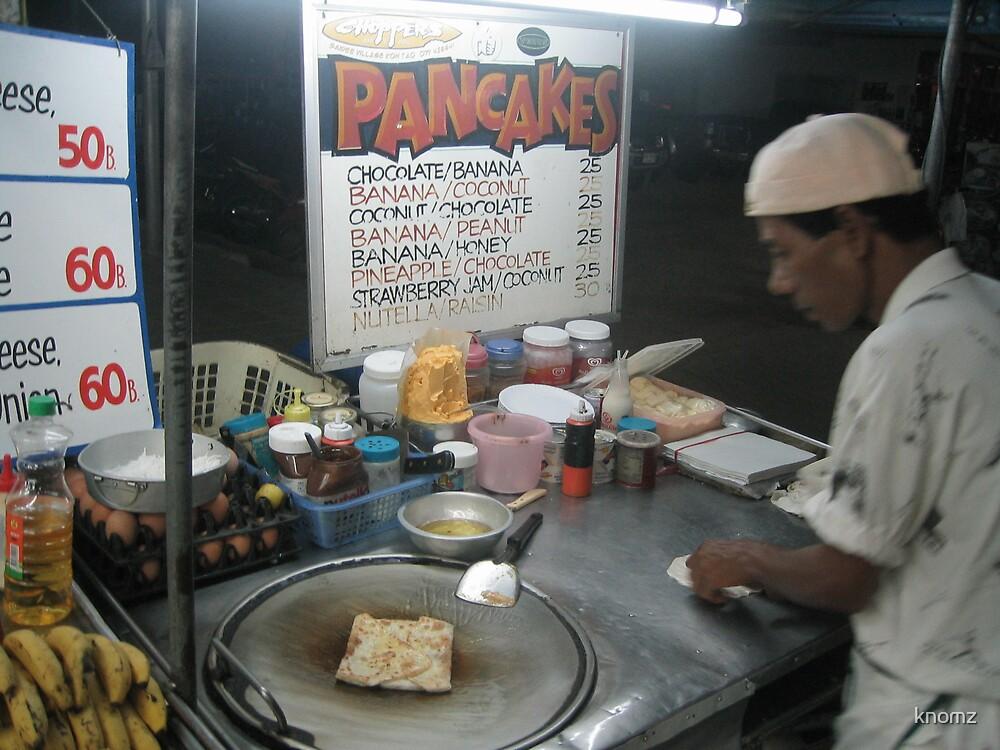 Banana pancake - Thailand style by knomz