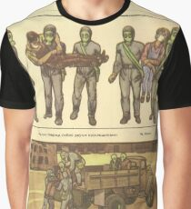 evacuation of victims Graphic T-Shirt