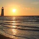 Point of Ayr lighthouse by turniptowers