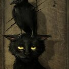 The Raven and the Cat von MorJer
