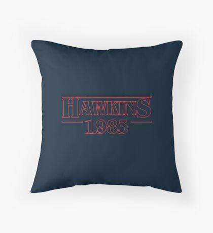 Hawkins 1983 Throw Pillow