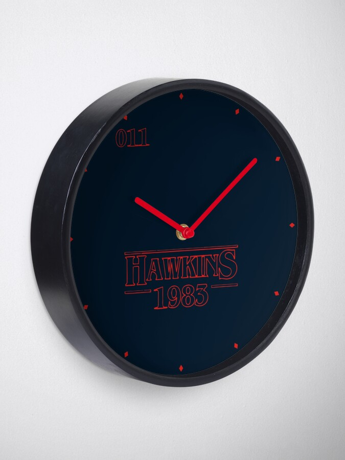Alternate view of Hawkins 1983 Clock