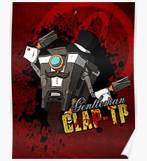 Borderlands - Gentleman Claptrap Poster
