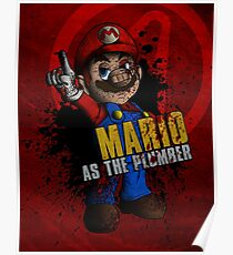 Borderlands - Mario as the Plumber Poster