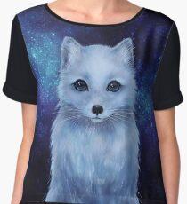 Arctic Fox Chiffon Top