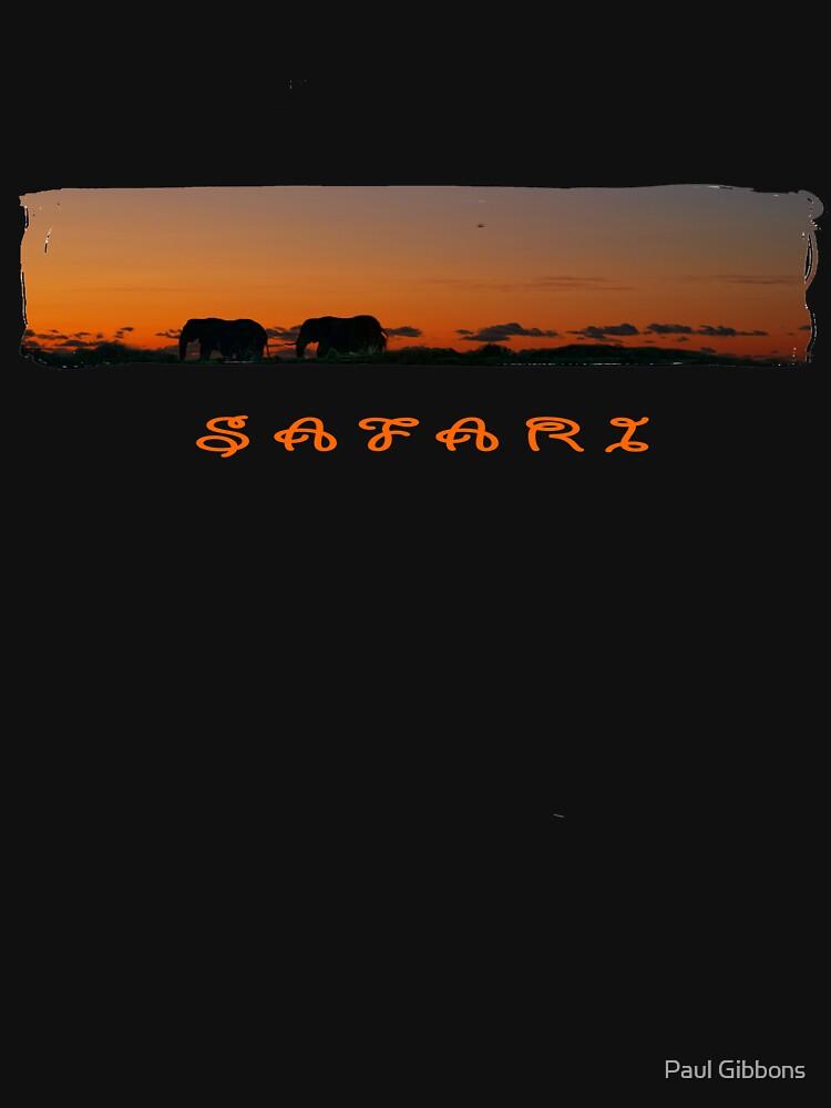 Safari Sunset T by spottydog06
