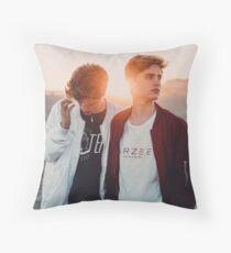 Martinez Twins Throw Pillow