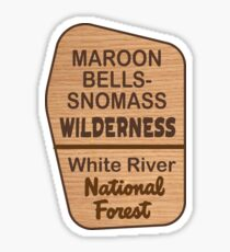 Maroon Bells-Snowmass Wilderness Sticker