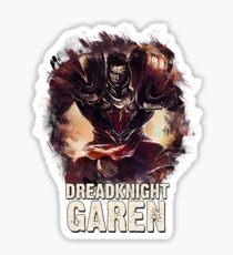 League of Legends DREADKNIGHT GAREN Sticker