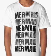 Mermaids (Black) Long T-Shirt