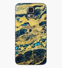 Gold Black Marble  Case/Skin for Samsung Galaxy