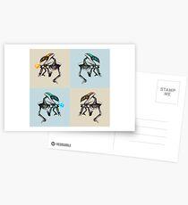 Halo Crawler Postcards