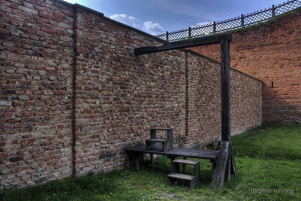 Gallows at the Small Fortress  by dagmar luhring
