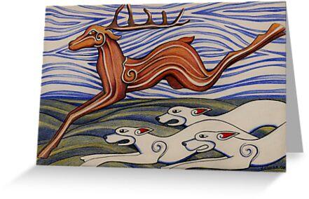 Hounds of Arawn by Deborah Holman