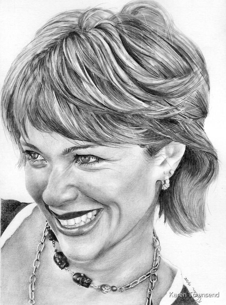 Lauren Holly by Karen Townsend