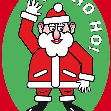 Christmas Santa Claus HO HO HO! 4.4  by RaSch