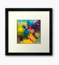 Sea Dreams in Primary Colors Framed Print