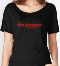 The Stooges distressed (red) Women's Relaxed Fit T-Shirt