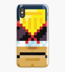Dredd head iPhone Case/Skin