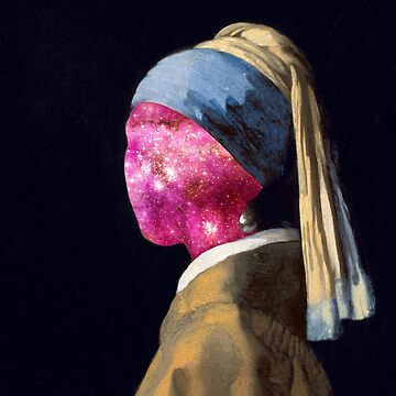 PSYCHEDELIC GIRL WITH A PEARL EARRING by MUMtees