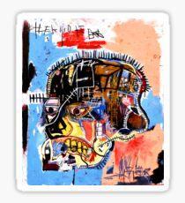 jean michel basquiat Skull poster Sticker