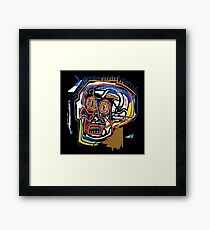 jean michel basquiat Skull poster Framed Print