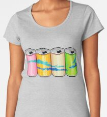 Sparkly water cans Women's Premium T-Shirt