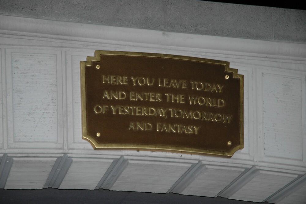 Disneyland by Lisa Ouillette