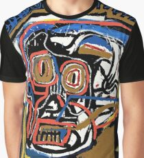 jean michel basquiat Skull poster Graphic T-Shirt