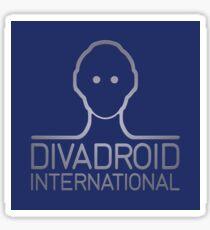 DIVADROID INTERNATIONAL (Red Dwarf) Sticker