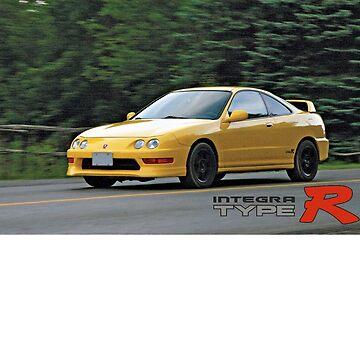 Acura Honda Integra Type R  by LadiesMan127