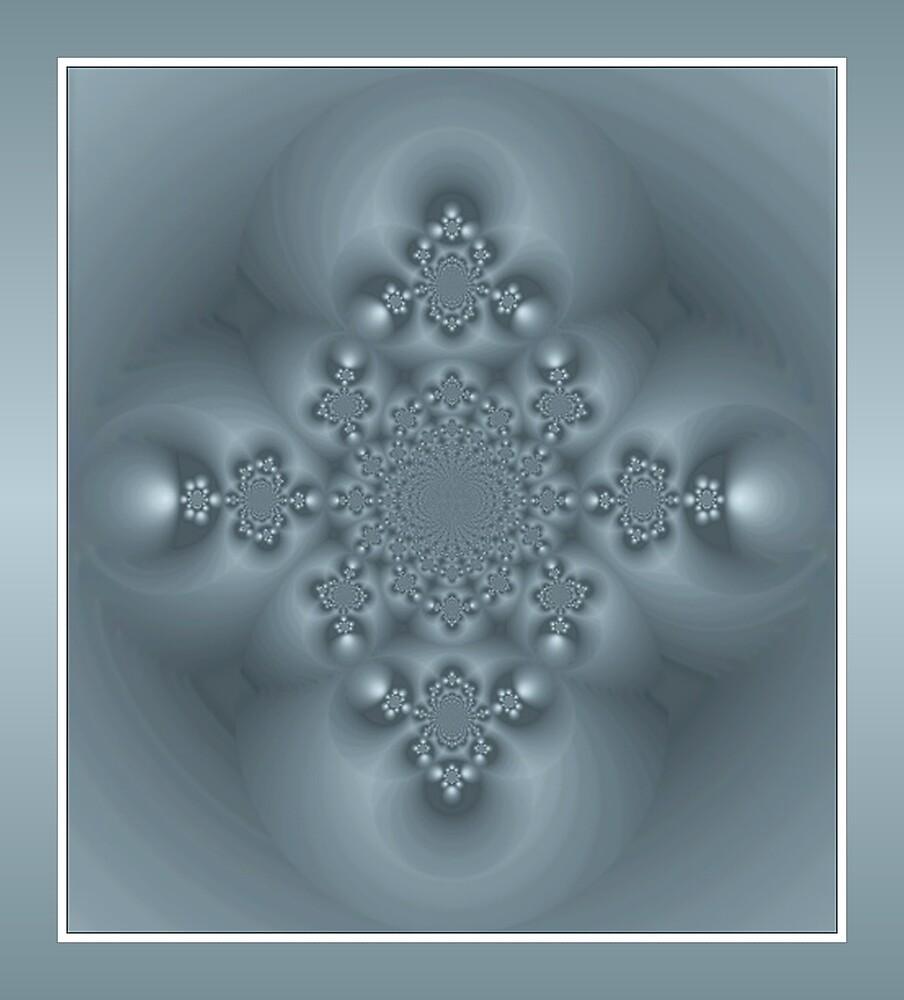 Blue Infinity. by Nina Toulmin
