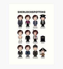 Sherlockspotting Art Print